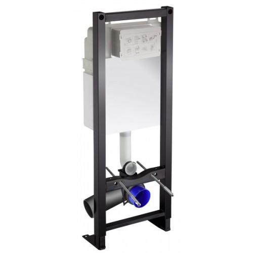 Bati-support avec réservoir à mécanisme 3/6 L