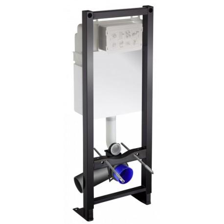 Bati-support avec réservoir à mecanisme 3/6 L