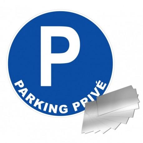 Panneau de signalisation - Parking privé
