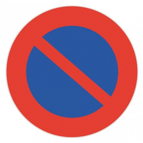 Panneau de signalisation rétroréfléchissant - Défense de stationner