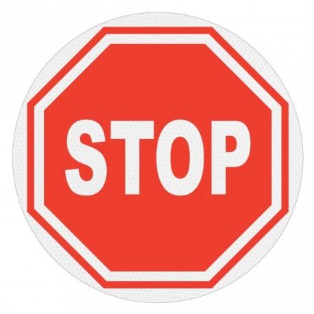 Panneau de signalisation rétroréfléchissant - STOP
