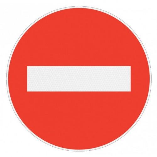 Panneau de signalisation rétroréfléchissant - Sens interdit