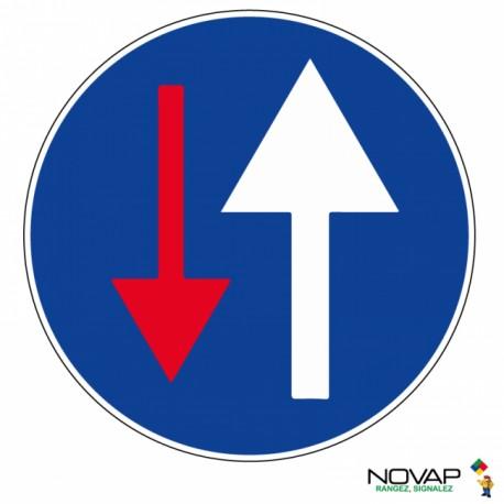 Panneau de signalisation - Vous avez la priorité