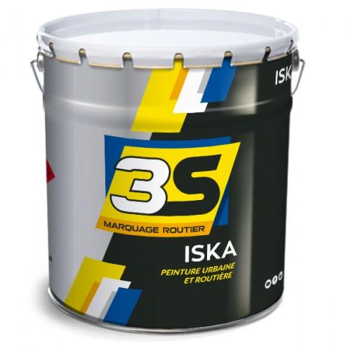 Peinture blanche à l'eau routière - ISKA