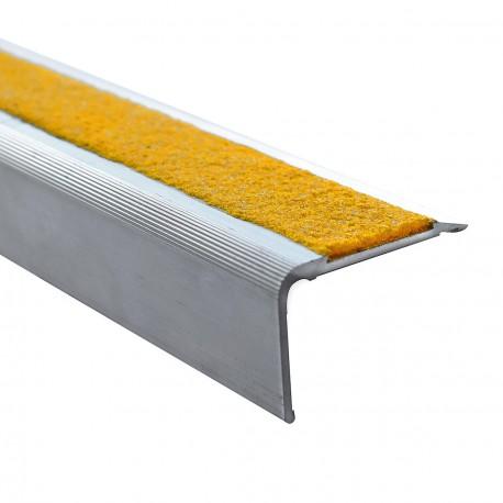 GECKO PP ALU XP 55 - Nez de marche en aluminium 55 mm