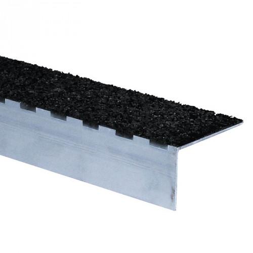 Nez de marche inox 1.5 m - LOT DE 10 - ST50 - intérieur et extérieur