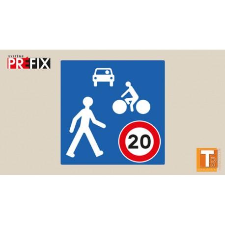 Symbole zone de rencontre - T-SIGN