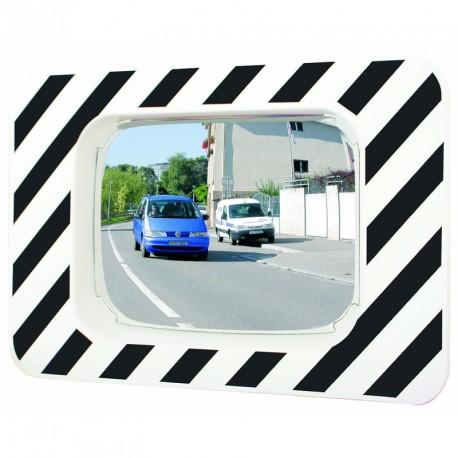 Miroir rectangulaire routier incassable - Polymir