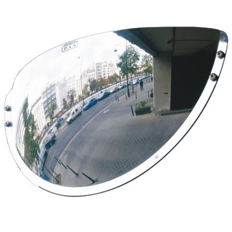 Miroir de sortie de parking