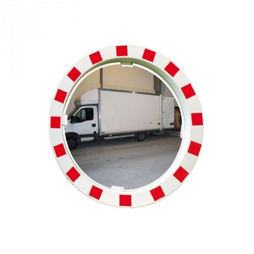 Qualité Polymir - Miroir rond industriel avec cadre