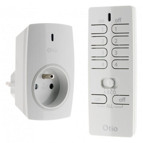 Pack éclairage  - télécommande prise - OTIO
