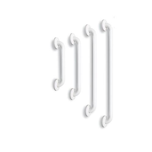 Barre de relèvement droite - Acier Epoxy Blanc