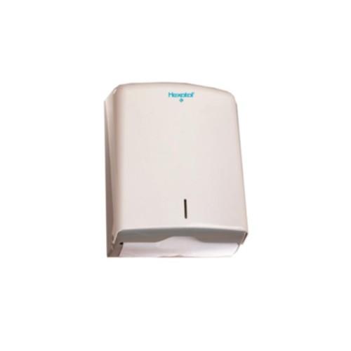 Distributeur d'essuie-mains - ABS blanc