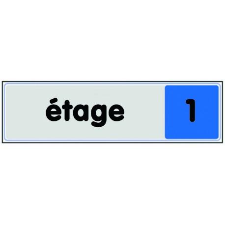 Plaquette plexiglas couleur - Etage 1