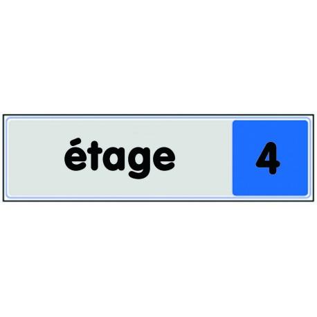 Plaquette plexiglas couleur - Etage 4