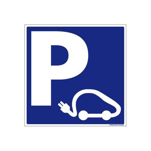 PANNEAU DE PARKING VOITURE ÉLECTRIQUE