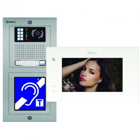 "Kit video ERP Inox PENTHA - 7"" TACTILE - Evicom - Golmar"