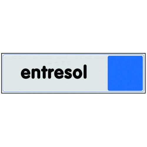 Plaquette plexiglas couleur - Entresol