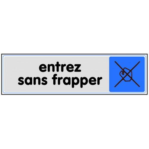 Plaquette Plexiglas Couleur - Entrez Sans Frapper