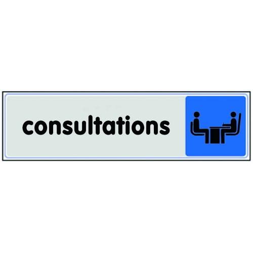 Plaquette Plexiglas Couleur - Consultations