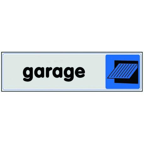 Plaquette plexiglas couleur - Garage