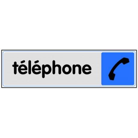 Plaquette plexiglas couleur - Téléphone