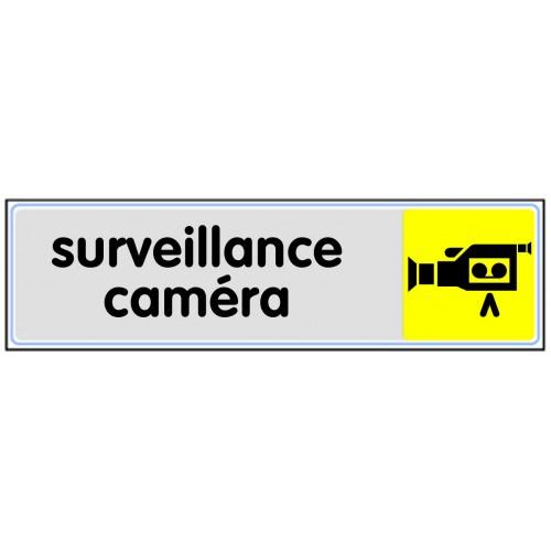 Plaquette Plexiglas Couleur - Surveillance Caméra