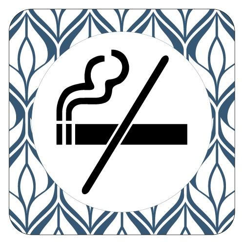 Plaque de porte ne pas fumer