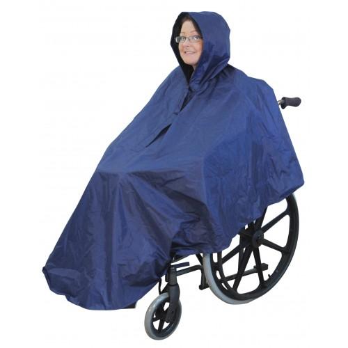 Poncho pour fauteuil roulant