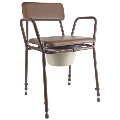 Chaise percée réglable en hauteur Essex