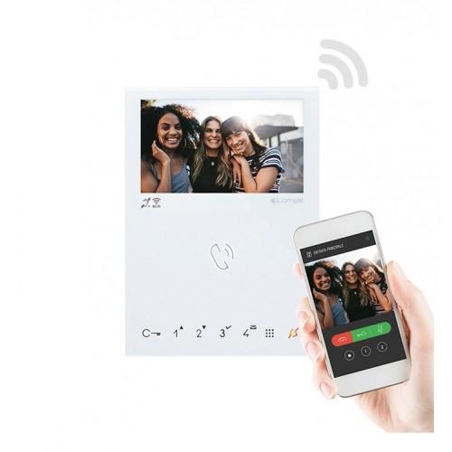 Moniteur couleurs mini mains libres Wi-Fi