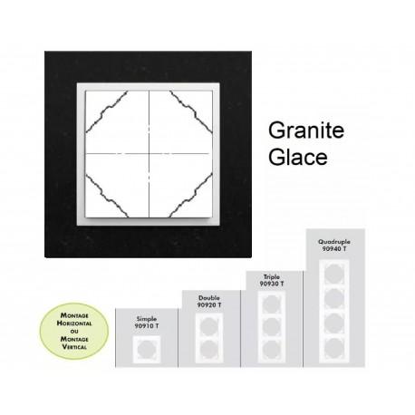 Plaque en granit - couleur glace