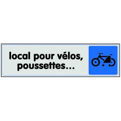 Plaquette Plexiglas Couleur - Local Pour Vélos, Poussettes...