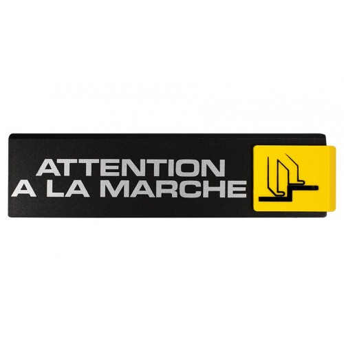 Plaquettes Europe Design - Attention à la marche