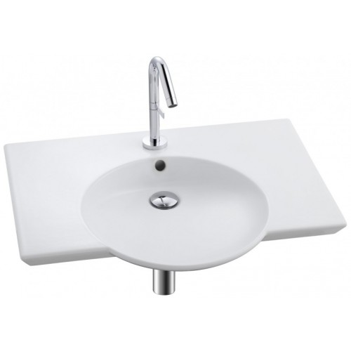 Lavabo plan vasque 70 cm - Spherik