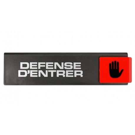 Plaquettes Europe Design - Défense d'entrer