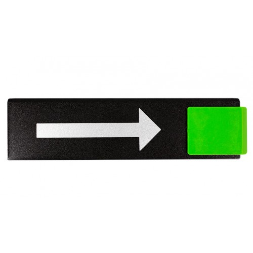 Plaquette Europe Design - Flèche Droite Direction