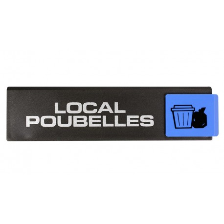Plaquettes Europe Design - Local poubelles