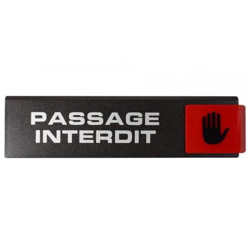 Plaquette Europe Design - Passage Interdit