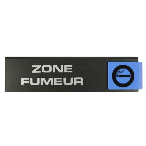 Plaquette Europe Design - Zone Fumeur