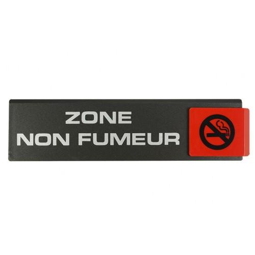 Plaquette Europe Design - Zone Non Fumeur