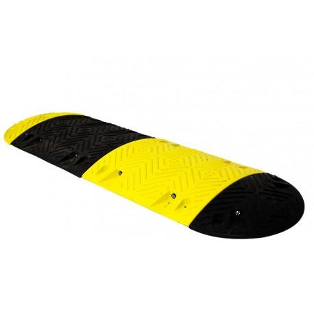 Ralentisseur Parking - kit de 4 modules 60 mm jaunes et noirs