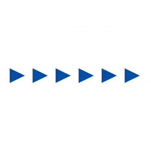 Bandes Adhésives Repérage Des Portes Vitrées - Flèches Bleues