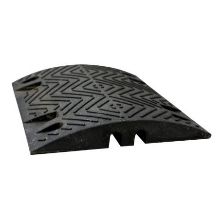 Ralentisseur parking - module droit 60 mm noir